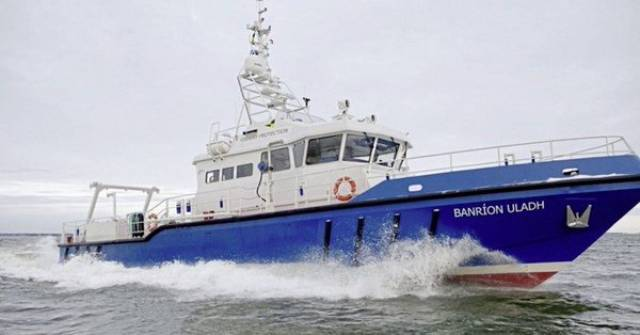 Northern Ireland Fisheries Patrol Vessel (FPV) when under the name of Banríon Uladh which was changed to Queen of Ulster.