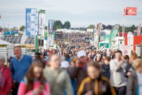 Last year's National Ploughing Championships were also held in Screggan, near Tullamore
