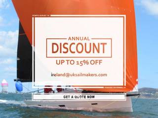 There is no better time to buy UK Sails than during the autumn period with up to 15% off retail pricing