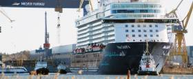 A first-time visitor to Dun Laoghaire Harbour last year, Mein Schiff 4, the $625m German cruiseship with a capacity for 2,506 passengers was completed for TUI Cruises at the Turku shipbuilder.