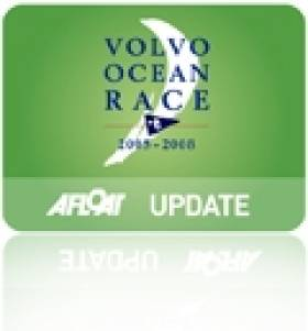 All-Women's Crew Lead Volvo Ocean Race Fleet on Leg 8