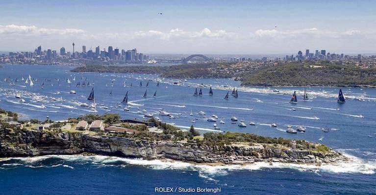 The Rolex Sydney Hobart Yacht Race has started from Sydney Harbour every year since 1945.