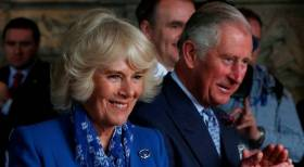 Prince Charles and wife Camilla in Co. Donegal during their visit to the Republic in 2016. The couple are to visit the Irish Naval Base, Cork Harbour in mid-June.