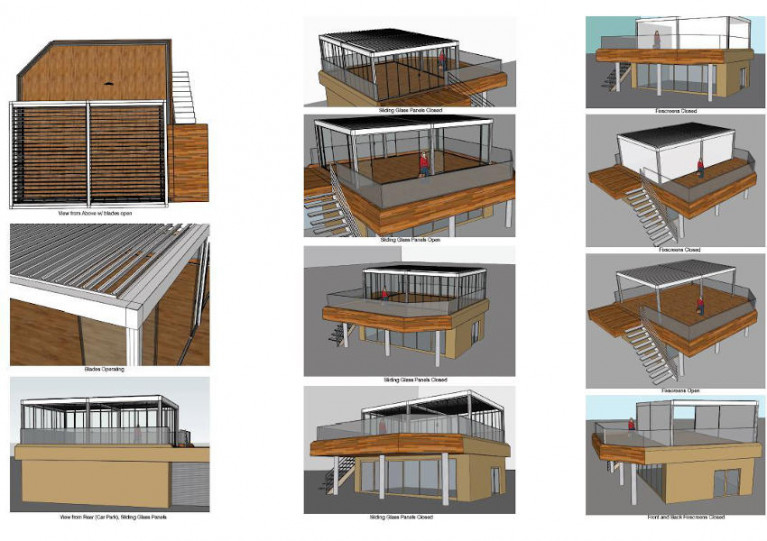 Future of Outdoor Dining at Howth Yacht Club is Warm & Dry With New Pergola Due This Summer