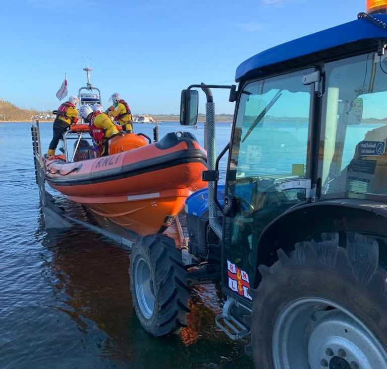 Lough Ree lifeboat call out