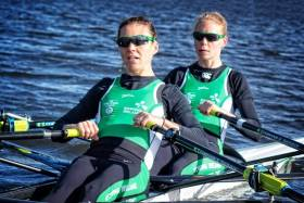 Sinead Jennings and Claire Lambe, who just missed out on direct qualification for the Semi-Finals in Varese.