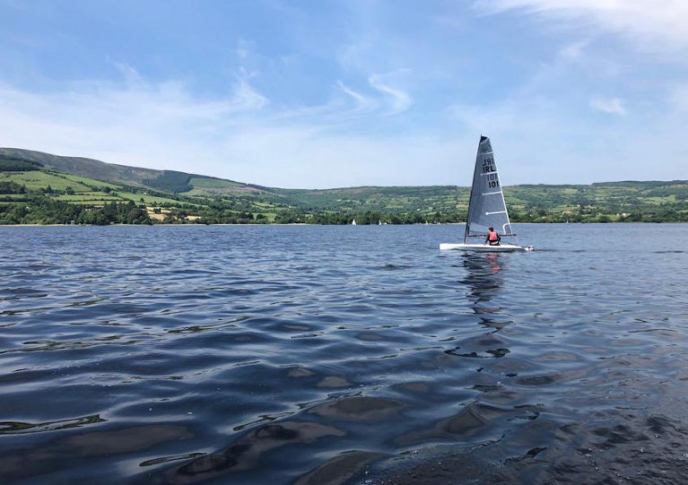 Back on the water with Killaloe Sailing Club