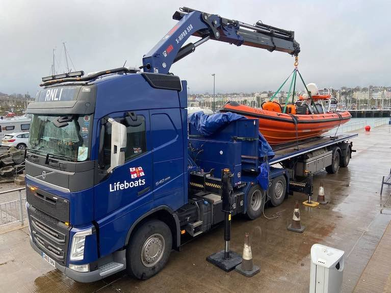 Bangor & Newcastle RNLI Welcome Their Lifeboats Home After Refit