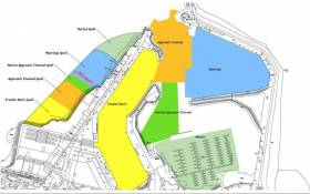 The Department of Agriculture, Food and the Marine's detailed proposal for key dredging areas and spoil infill at Howth Harbour