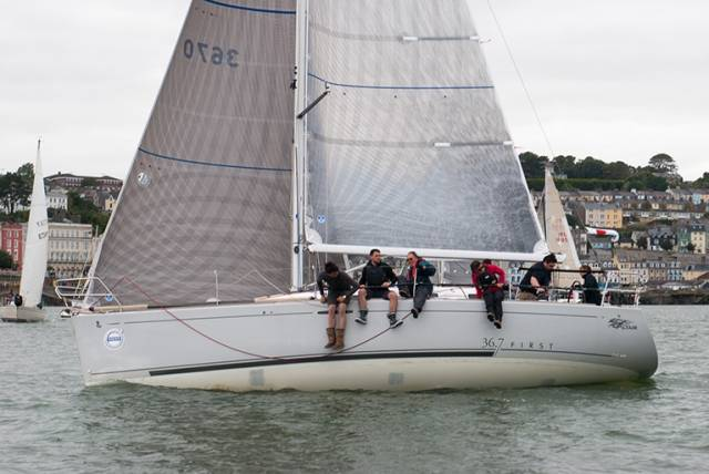 Cove Sailing Club's Beneteau First 36.7 Altair was the class one winner of yesterday's annual Cobh to Blackrock race. Scroll down for photo gallery