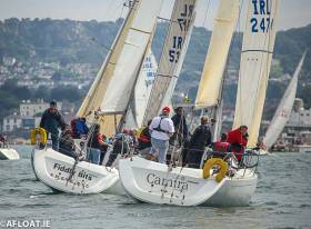 There was a a 100% turnout of all twelve DBSC Beneteau 31.7s