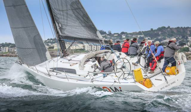 George Sisk's Farr 42 Wow from the Royal Irish Yacht Club
