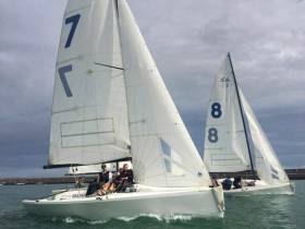 The National Yacht Club's new fleet of Elliot 6 high-performance keelboats