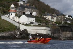 Youghal RNLI's new Atlantic 85 lifeboat Gordon and Phil