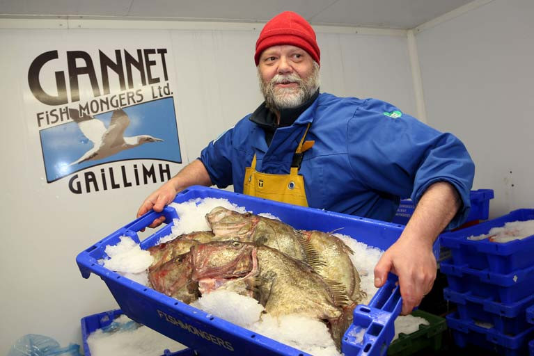 Stephane Griesbach of Gannet Fishmongers
