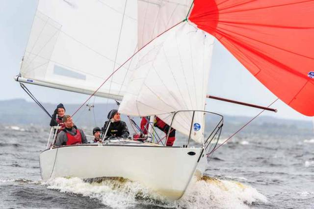 Greystones Sailing Club's Usher is Irish Northern J/24 Champion
