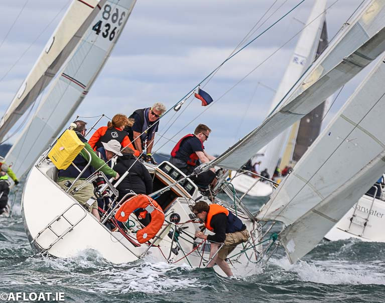Pastiche, a Sigma 33, will start in the second of four starts of Sunday's DBSC Spring Chicken Race