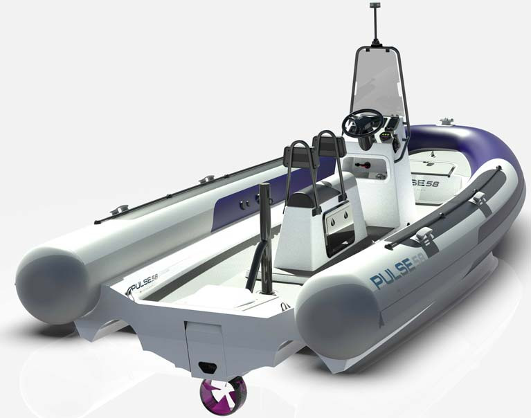 RS Launch Electric RIB at Boot Dusseldorf
