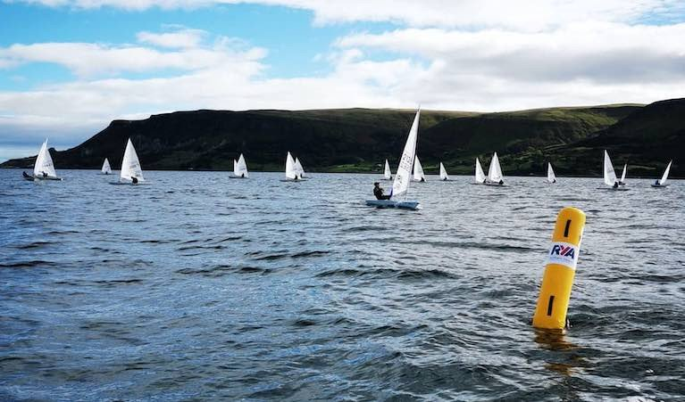 Cushendall Sailing and Boating Club was the venue for the RYA NI performance weekend