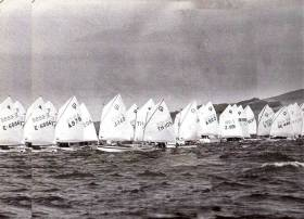The International Optimist Dinghy Worlds at Howth in 1981, when the 130-strong fleet from 26 nations covered the sea so tightly that Lambay was almost invisible