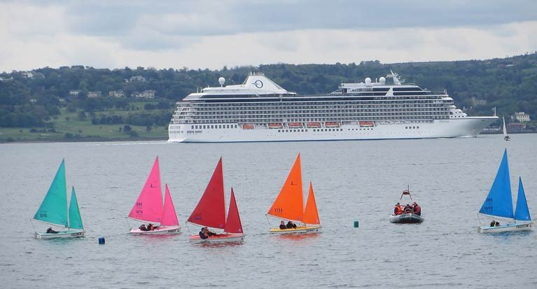 Belfast Lough Sailablity on the water