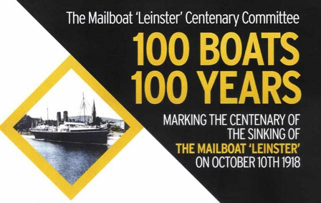 100 Boats for 100 Years: Commemorating the Centenary of the Sinking of the RMS Leinster