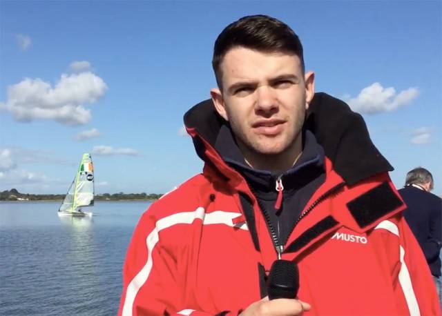 Cathal McCahey's report covered fellow DCU student Robert Dickson and his Tokyo 2020 campaign with Sean Waddilove