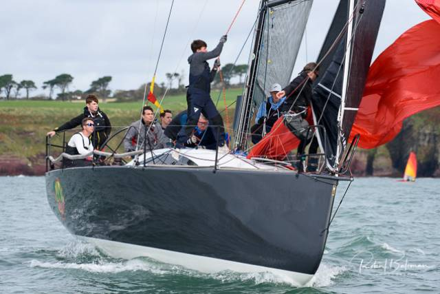 Murphy's Grand Soleil 40 'Nieulargo' Takes the IRC Zero Lead at Royal Cork's Autumn Series