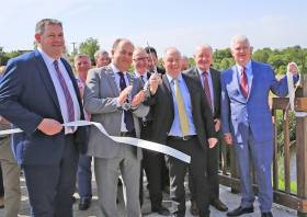 Cutting the ribbon on Phase 3 of the Shannon Blueway