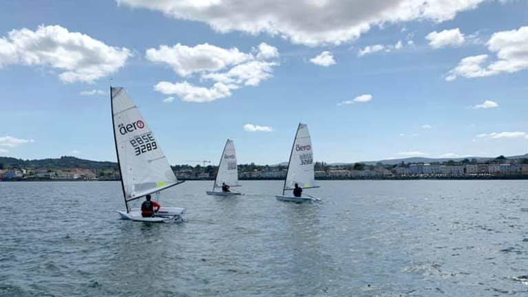 RS Aeros in Dublin Bay