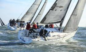 Royal Irish yacht D Tox (McSwiney, O'Rafferty, McStay & Sherry) competed in Tuesday's DBSC Combined Cruisers race