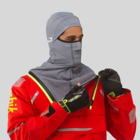 The innovative balaclava in the Isotak Zhik jacket