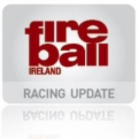 Colin Succeeds Bradley as Irish Fireball Chief