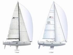 "X Yachts Designs ""L"" Shaped Keels for Cruisers & Torpedo Keels for Performance Yachts"