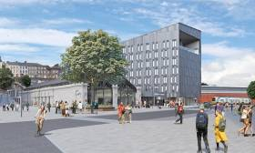 Artist's impression of the proposed HQ development at Horgan's Quay