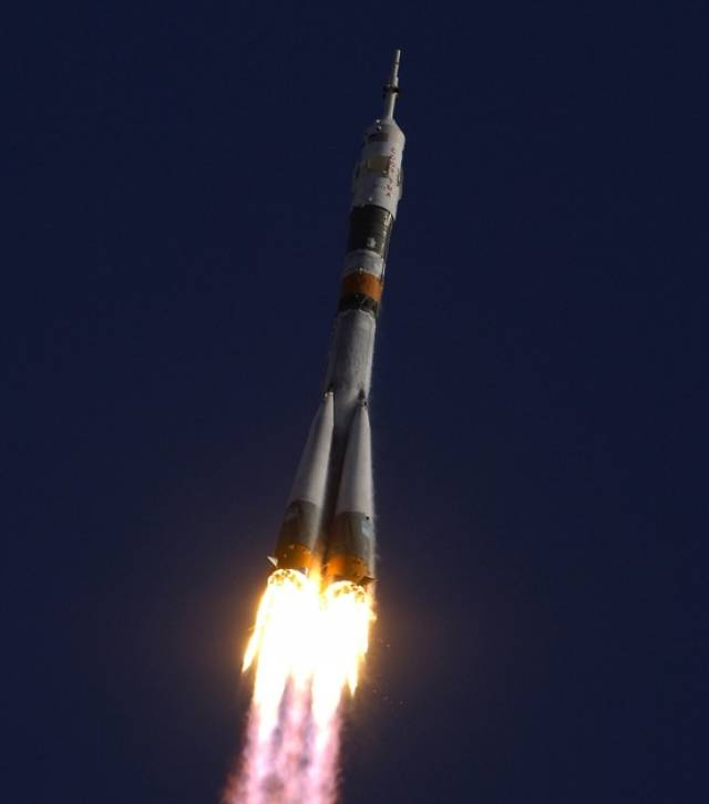 A Soyuz rocket much like this one is set to launch next week with a flight path that takes it over the Irish EEZ