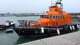 Donaghadee RNLI's Trent class lifeboat Saxon