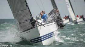 Dux in winning form at the ICRA Nationals on Dublin Bay