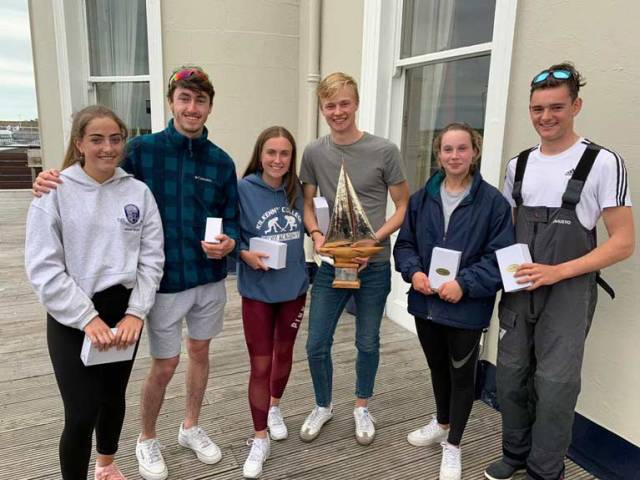 Elmo Cup winners 2019 - Team 'Curious George', Toby Hudson Fowler, Kathy Kelly, Henry Higgins, Isabelle Kearney, Jack Fahy and Emily Riordan