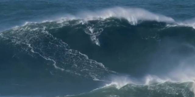Mullaghmore Big Wave Regular May Have Set New World Record In Portugal