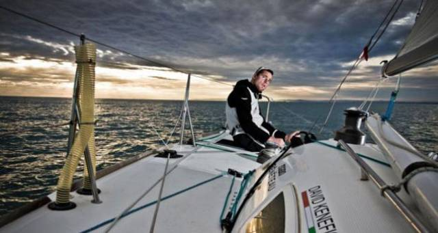 Despite his Figaro ambitions, David Kenefick would be more interested in the Moth than an offshore event at the Olympics
