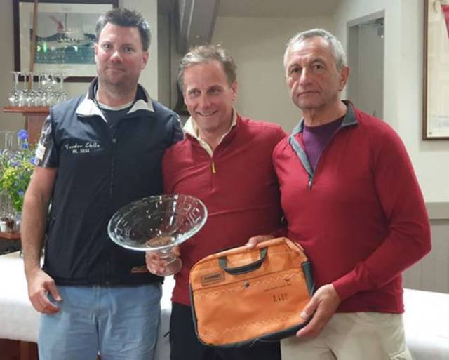 Ross Nolan and Gordon Patterson were Squib South Coast winners