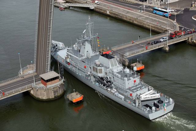 Fourth Irish Naval Service Vessel To Be Named 'George Bernard Shaw'