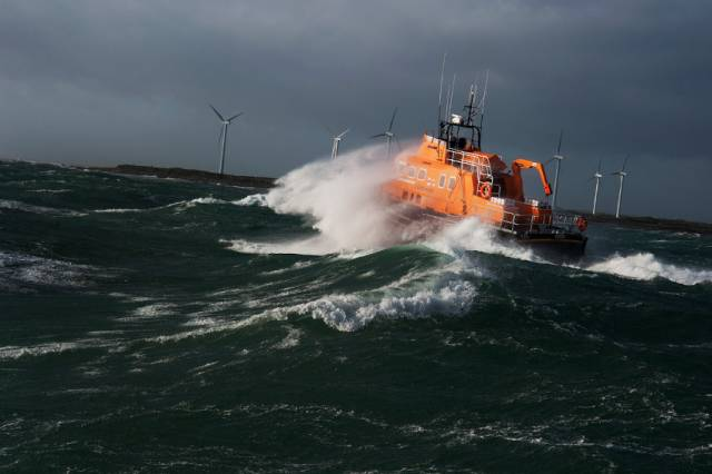 Rosslare Harbour RNLI's all-weather lifeboat