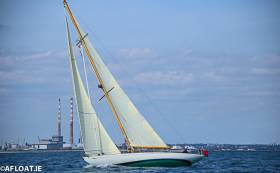 A vintage yacht sailing on Dublin Bay - traditional techniques should not be forgotten says Tom MacSweeney