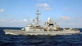 The French Navy's Cassard is to make a call to Dublin Port this weekend along with an auxiliary tanker
