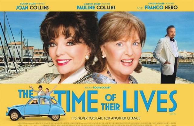 SEA FILM: Time of Their Lives, the latest film to star Joan Collins along with Pauline Collins. Scenes of the actresses were set on board a UK-France ferry for the film that is themed on love, adventure and true friendship.