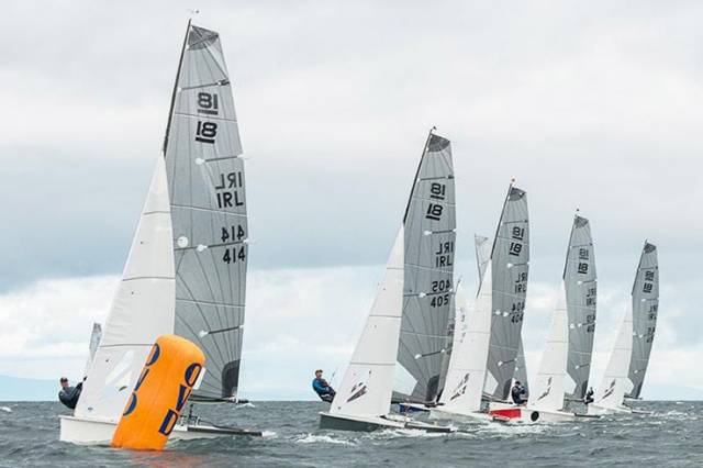 The National 18 will race In the Battle Of The Classes at Southampon Boat Show