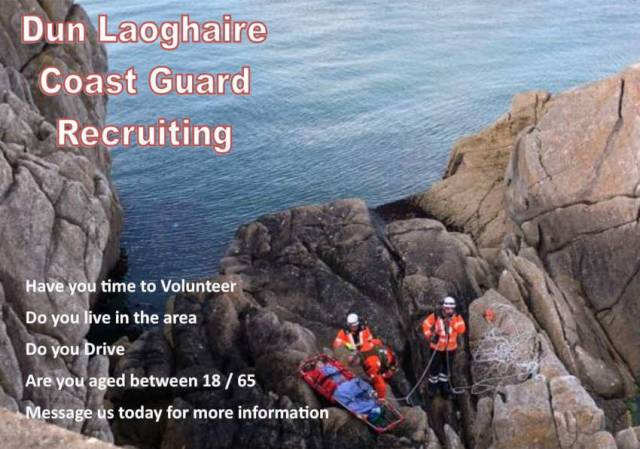 Dun Laoghaire Coastguard Recruiting New Volunteers