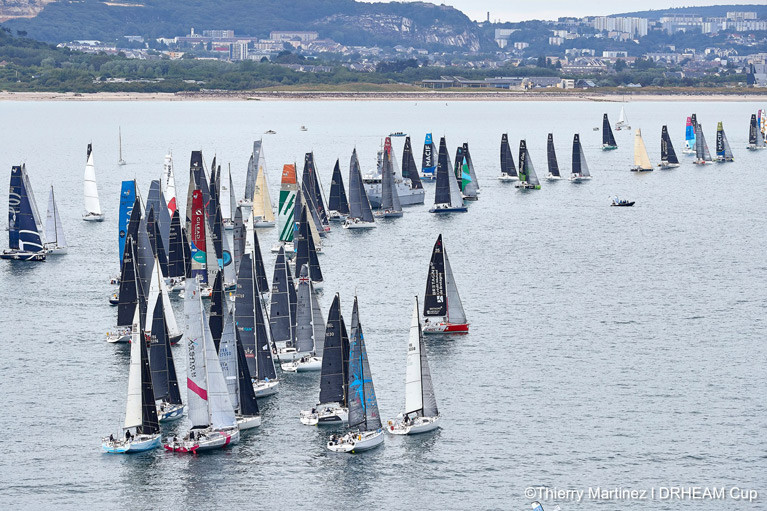 The 2020 Drheam Cup has started with two Irish double-handed campaigns in the 100-boat fleet